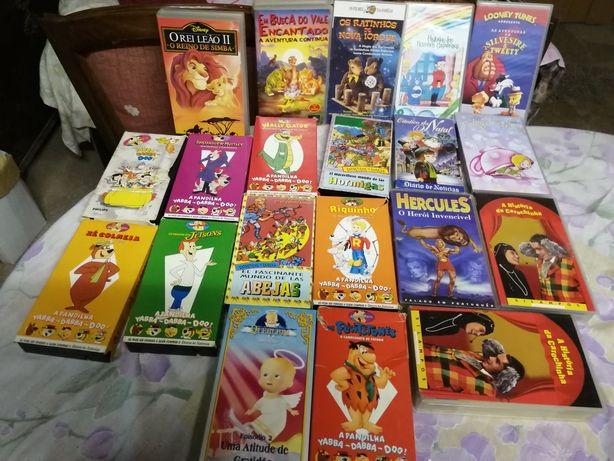Casstes de Videos Infantis