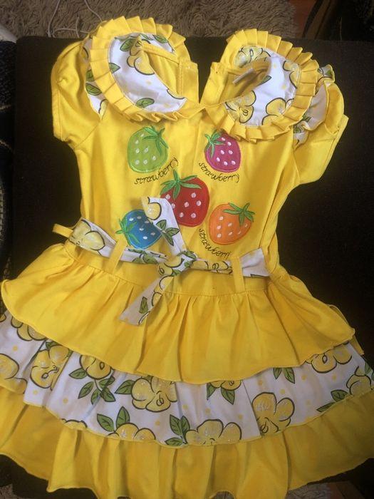 Шикарное платье на девочку 2 гола Чернигов - изображение 1