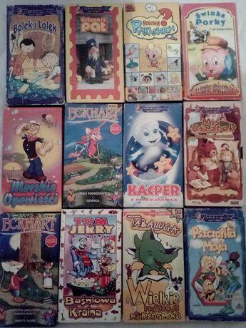 Bajki dla dzieci Kasety VHS (Tania Wysyłka)