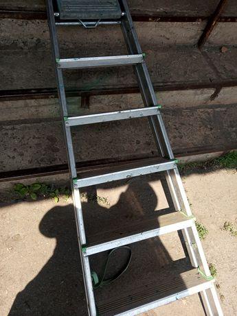 Лестница алюминиевая 7 ступенек