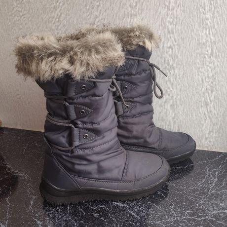 Зимние сапоги для девочки подростка Winter-Grip