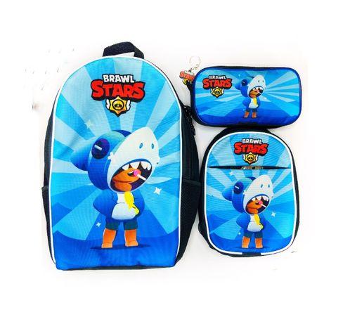 Набір Бравл Старс -рюкзак, сумка та пенал - швидка відправка!