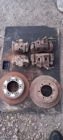 Супорт  тормозний диск паджеро вагон 2 pajero 2 розборка