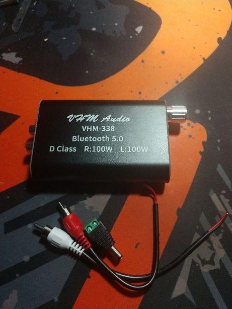 Аудио Bluetooth 5.0 усилитель — VHM-338. Общая мощность 200Вт