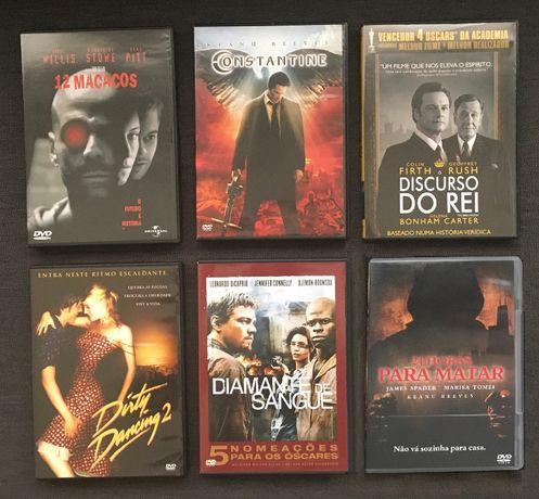 6xDVD Vários Filmes (Ed. PT) - portes incluídos (vendo separado)