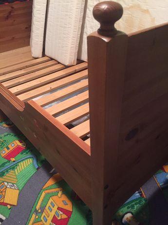 Łożko łózeczko dziecięce Ikea 90x120/200