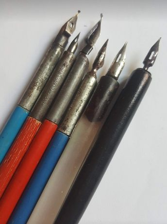 Чернильная  ручка ссср перо