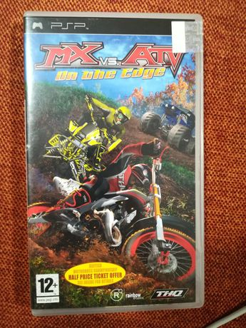 MX vs ATV On The Edge - Jogo PSP