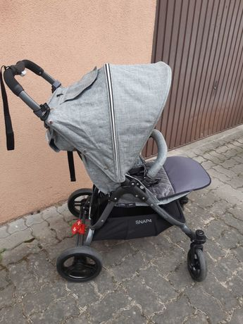 Wózek spacerówka Valco baby Snap 4 ciemno szara