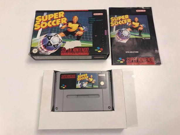 Gra Super Soccer Super Nintendo SNES PAL Box