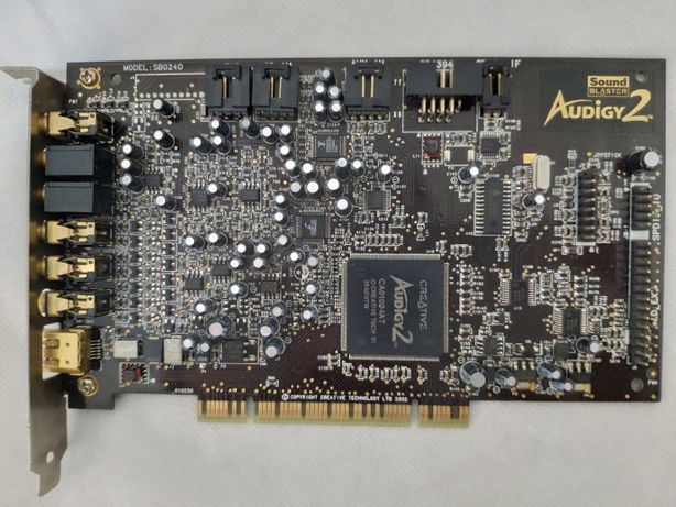 Creative Sound Blaster Audigy 2 SB0240 7,1 Channel PCI Placa de Som