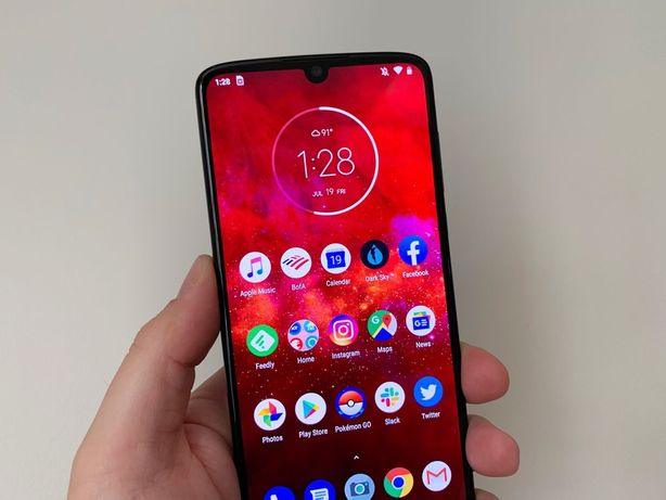 "Motorola z4 6.4"" 4/128 Gb (1 sim) Snapdragon 675 Идеал Чехол+ Стекло"