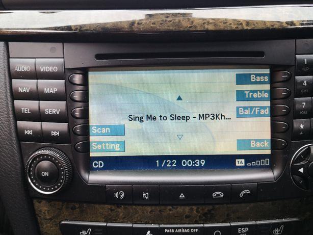 Mercedes w 211 e klasa w219 cls radio cd nawigacja