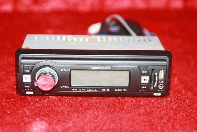 Auto rádio com 100w