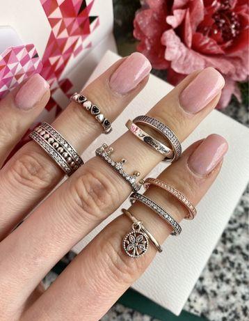 Кольцо Пандора серебро s925