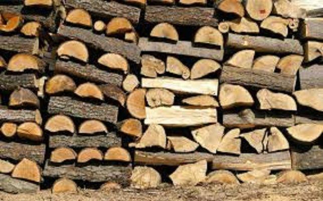 Porąbane drewno kominkowe-sezonowane, układane metry!