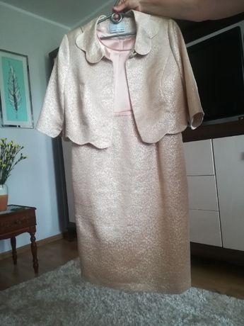 Sukienka idealna na wesele ,przyjęcie Marki Frank Fashion rozmiar 44