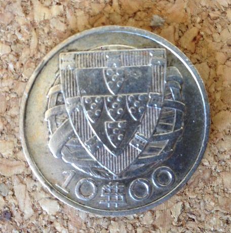 (10$) 10 escudos 1933 Rara