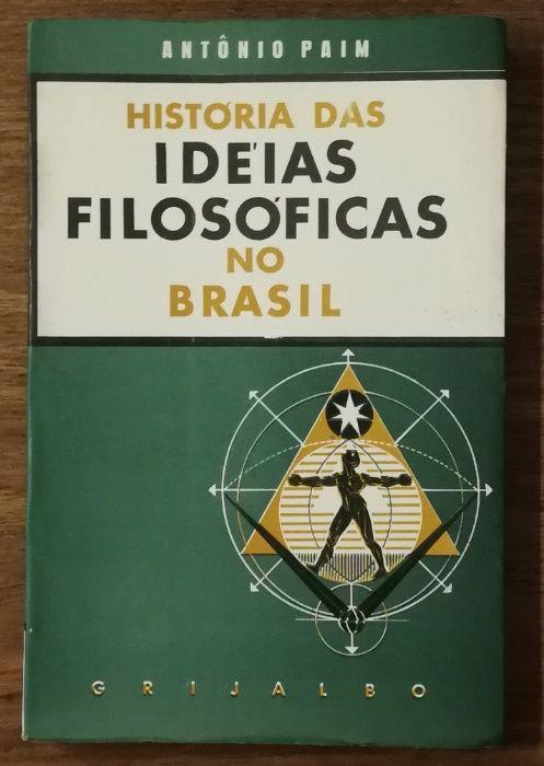história das ideias filosoficas no brasil, antónio paim Estrela - imagem 1
