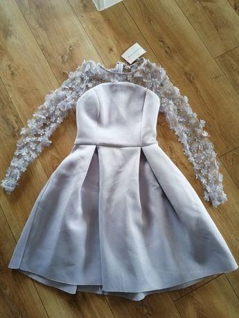Sukienka rozkloszowana nową XS 34