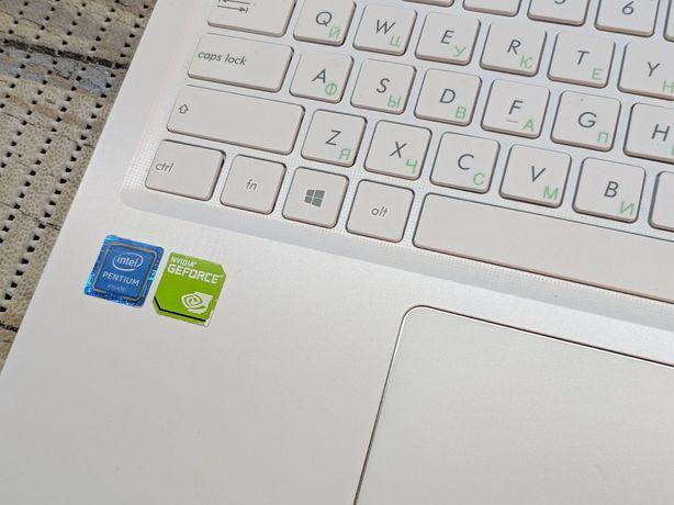 Ноутбук Asus 4х ядерный Видеокарта Geforce. VivoBook Max White