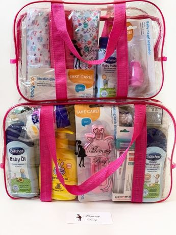 Готовая сумка набор в роддом для малыша BabyBoy/BabyGirl (23 единиц)