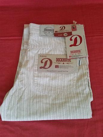 spodnie dockhouse 100% bawelna