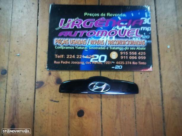 Pega Aro Friso puxador mala Com luzes Matricula  Hyundai Getz