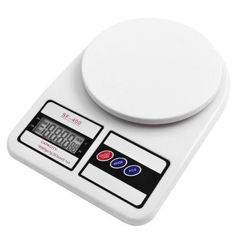 Весы кухонные Domotec MS-400 Classic до 10 кг Белые
