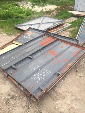 Продам металлический гараж разобранный