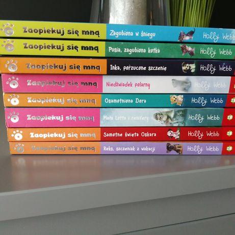 Seria książek dla dziewczynki