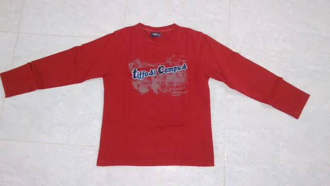 T-shirt de manga comprida Tiffosi