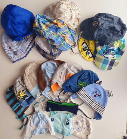 Mega paka, zestaw czapek chłopięcych, czapki chłopięce, czapka