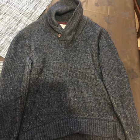 Шерстяний теплий светр на хлопчика 11-12 років