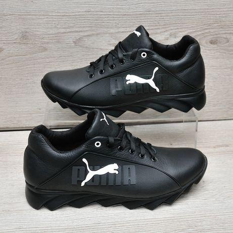 Кроссовки Puma. Мужские кроссовки пума.Натуральная кожа. Размеры 40-45