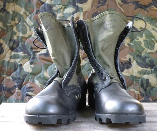 Buty Us Army Jungle boots 13 1/2 XW