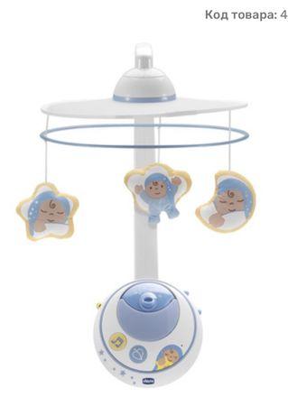 Интерактивный мобиль-проектор Chicco Волшебные звездочки со звуковым э