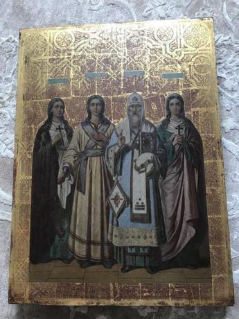Икона 4 Святых, 52х71 см
