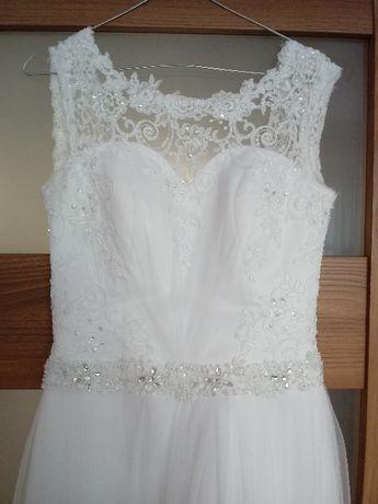 Sprzedam suknię ślubną r. 36