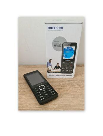 nowy komplet 2 szt. gwarancja telefon Max-Com MM139 + MyPhone