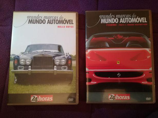 "DVD ""Rolls Royce"" (grandes marcas do mundo automóvel)"