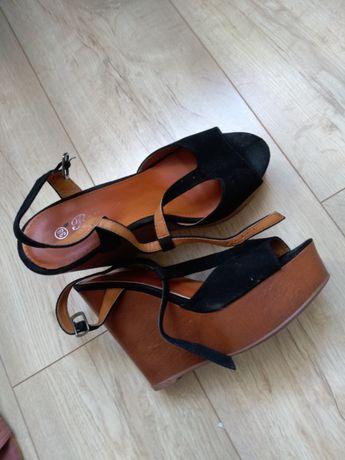 Sandaly deezee czarne