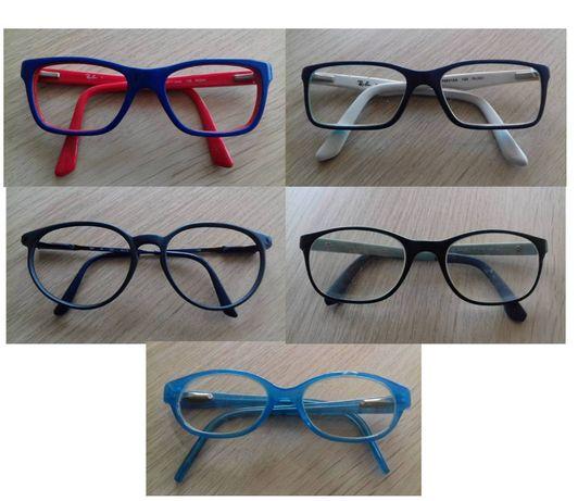 Armações de óculos para criança (4-7 anos) - Ray-Ban, etc.