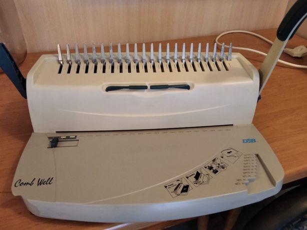Биндер DSB Comb Well для сшивания документов