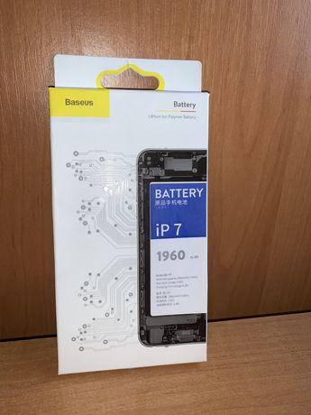 Продам нову  батарею Baseus для Iphone 7