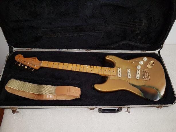 Fender Strato caster Vintage com Certificado de Autenticidade