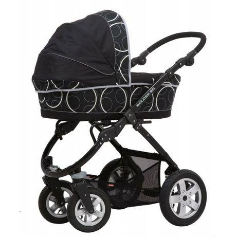 Wózek Implast Bolder 3w1 gondola,spacerowka,nosidełko bobbiway