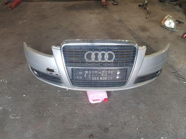 Audi A6c6 Zderzak Przód Kompletny