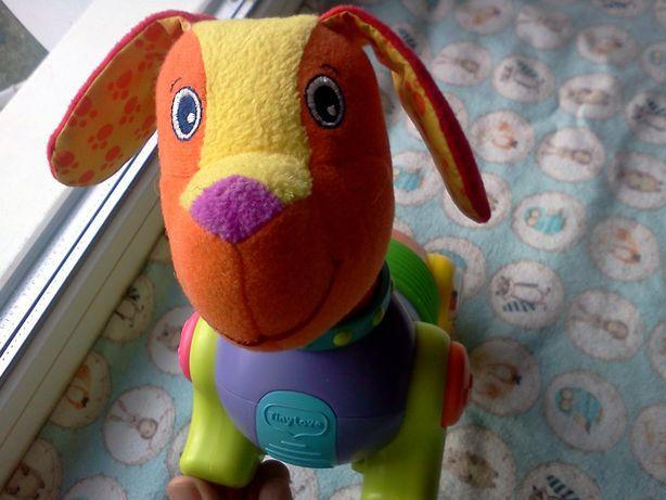 Интерактивный щенок Фред. Собака Tiny Love. Очаровательная такса