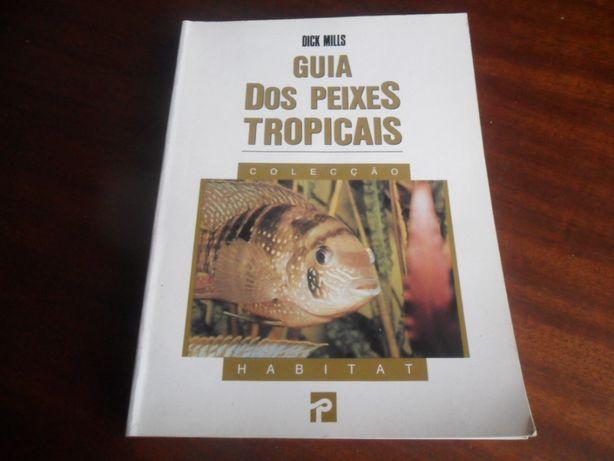 """Guia dos Peixes Tropicais"" de Dick Mills"